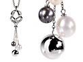 Twist Damenkette mit Perlen von Morellato
